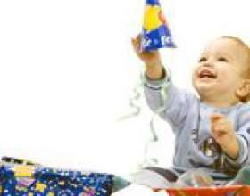 Що подарувати дитині до року? фото