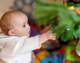 Готуємося до нового року з малюком фото
