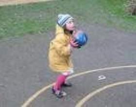 Ігри з м`ячем. Штандер фото