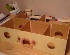 Виготовлення лялькового будиночка фото