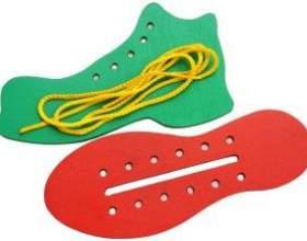 Як зробити іграшки-шнурівки для дітей своїми руками фото