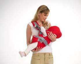 Кенгуру для новонароджених зі скількох місяців можна використовувати? фото