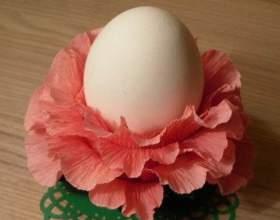 Підставка для пасхального яйця своїми руками з паперу: майстер-клас з фото фото