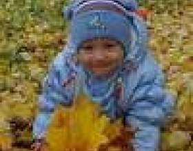 Осінні прогулянки з дитиною фото