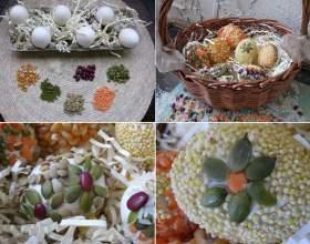 Великоднє яйце з кіндера: майстер-клас з фото фото