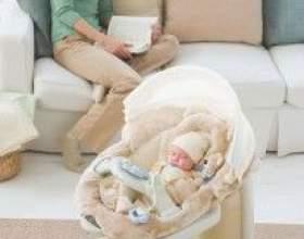 Подаруйте новонародженому електронні гойдалки фото