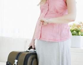 Чи можна літати літаком вагітним? фото
