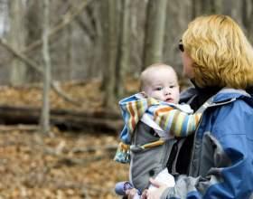 Дитина в рюкзаку фото