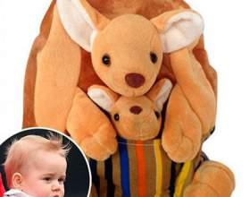 Рюкзак з кенгуру, як у принца джорджа, розкупили за лічені хвилини фото