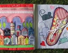 Шиємо розвиваючу книжку для дитини фото