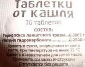 Таблетки від кашлю дітям інструкція фото