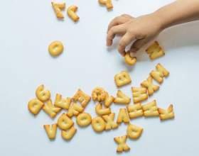 Вчимо дитину алфавіту: весело, смачно, незвично фото